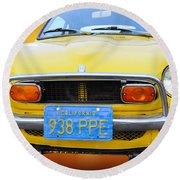 Honda Z600 Coupe I I Round Beach Towel