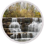 Honeoye Falls 2 Round Beach Towel
