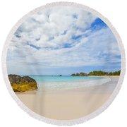 Horseshoe Bay Round Beach Towel