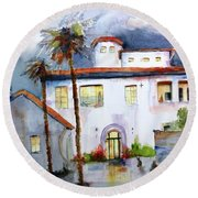 Hospitality House Round Beach Towel