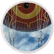 Hot Air Baloon Round Beach Towel
