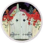 House And Garden Garden Furnishing Number Cover Round Beach Towel