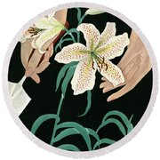House And Garden Garden Furnishings Number Round Beach Towel