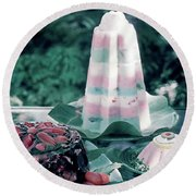 House And Garden's Cold Cook Book Cover Featuring Round Beach Towel