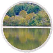 Round Beach Towel featuring the photograph How Sweet The Sound by Nick Kirby
