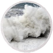 Huge Wave Round Beach Towel