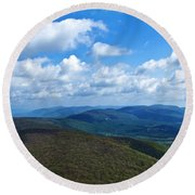 Humpback Rocks View North Round Beach Towel