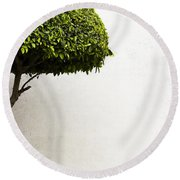 Hypnotic Tree Round Beach Towel by Prakash Ghai