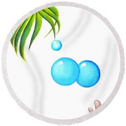 I Will Follow You Round Beach Towel