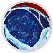 Icarus Round Beach Towel