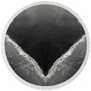 Iced Round Beach Towel