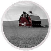 Icon Of The Palouse Round Beach Towel by Sharon Elliott