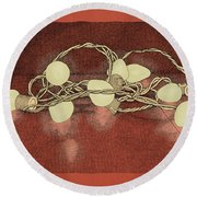 Illumination Variation #2 Round Beach Towel