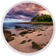 Iluminated Beach Round Beach Towel