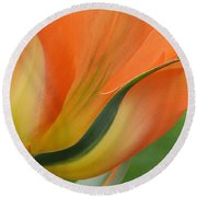 Imperfect Beauty Round Beach Towel by Felicia Tica