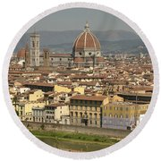 In Love With Firenze - 2 Round Beach Towel
