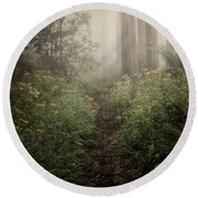 In Silence Round Beach Towel by Amy Weiss