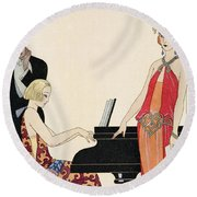 Incantation Round Beach Towel