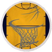 Indiana Pacers Court Round Beach Towel