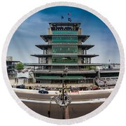Indianapolis Motor Speedway Round Beach Towel
