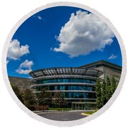 Indianapolis Museum Of Art Round Beach Towel