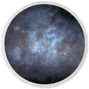 Round Beach Towel featuring the photograph Infrared View Of Cygnus Constellation by Science Source