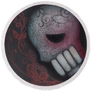 Inner Feelings Round Beach Towel by Abril Andrade Griffith