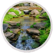 Inniswood Metro Park Photo Round Beach Towel