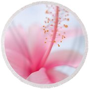 Invitation Into The Light Round Beach Towel