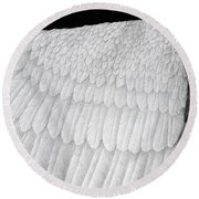 Inward Flight Round Beach Towel