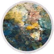 Iron Creek Bottoms Round Beach Towel