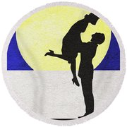 It's A Wonderful Life Round Beach Towel