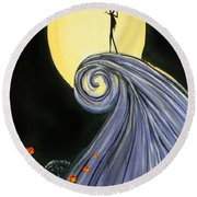 Jack's Lament Round Beach Towel
