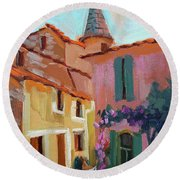 Jacques House Round Beach Towel
