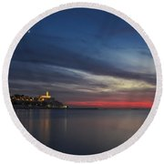 Jaffa On Ice Round Beach Towel