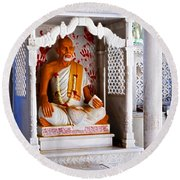 Jain Idol Round Beach Towel