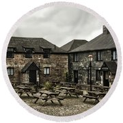 Jamaica Inn. Round Beach Towel