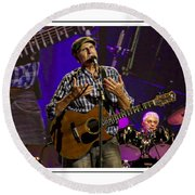 James Taylor Sweet Round Beach Towel