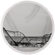 Jet Star  Round Beach Towel