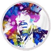 Jimi Hendrix - Stoned Round Beach Towel