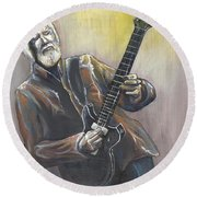 'jimmy Herring' Round Beach Towel