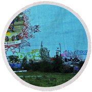 Joga Bonito - The Beautiful Game Round Beach Towel
