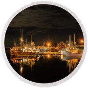 John's Cove Reflections Round Beach Towel