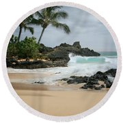 Journey Of Discovery  Round Beach Towel