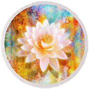 Joy Of Life Round Beach Towel