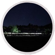 Julian Night Sky Round Beach Towel