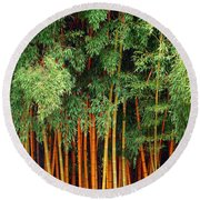 Just Bamboo Round Beach Towel