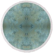 Kaleidoscope - Wall 1 Round Beach Towel by Andy Shomock