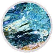 Kanaloa Abstract Round Beach Towel