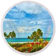 Kauai Bliss Round Beach Towel